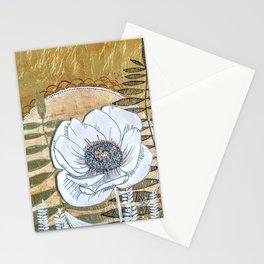 Golden Moonlight Stationery Cards