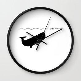 Jonah & the Whale Wall Clock