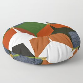 KALEIDOSCOPE 06 #HARLEQUIN Floor Pillow