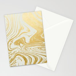Gold Rush Minimal Illustration, Abstract Shine Luxe Glow Metallic Shimmer Golden Graphic Design Stationery Cards