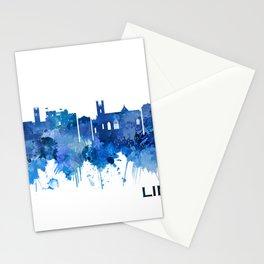 Limerick Ireland Skyline Blue Stationery Cards