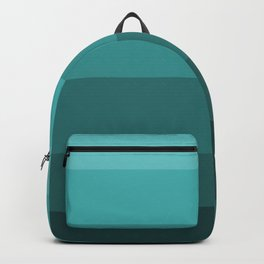 Winter Dark Teal - Color Therapy Backpack