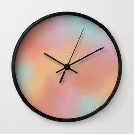 Cottoncandy Skies Wall Clock