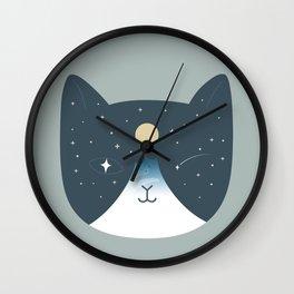 Cat Landscape 100 Wall Clock