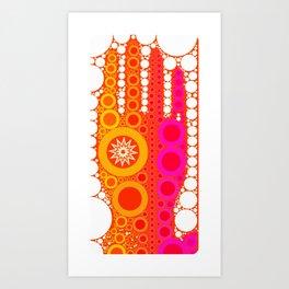 Healing Hand Art Print