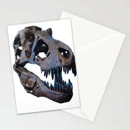 The Dinosaur Skull (Color) Stationery Cards