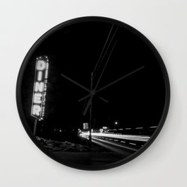 Late Night Diner Wall Clock