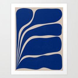 Five Leaf Plant - 1/3 Art Print