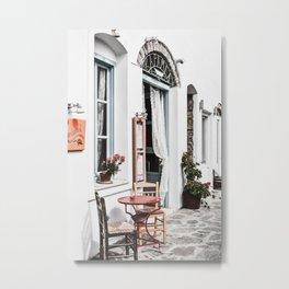 Amorgos Greece Metal Print