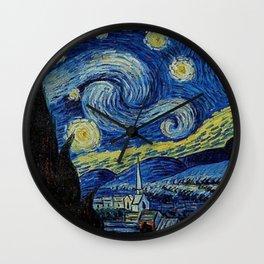 Van Gogh : Stary Night Wall Clock
