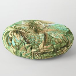 Vintage Tropical #society6 #buyart #painting Floor Pillow