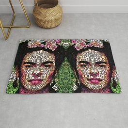 Frida Kahlo Art - Define Beauty Rug