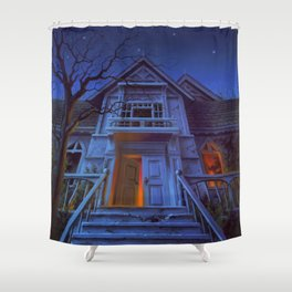 Welcome to Dead House Shower Curtain