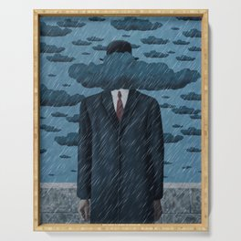 The Sun of Man (Rainstorm) Serving Tray