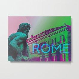 Piazza Navona Rome Metal Print