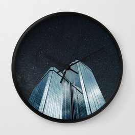 City of glass (1983) Wall Clock
