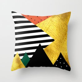 Fall abstraction #2 Throw Pillow