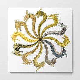 King's Circle Metal Print