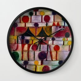 "Paul Klee ""Camel (in a rhythmic landscape of trees)"" (1920) Wall Clock"
