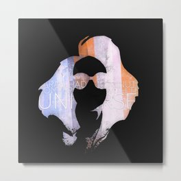 Mr. Gray Metal Print