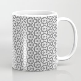Kaleidoscope Continuous Pattern - Gray Coffee Mug