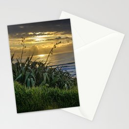 Sunset at Muriwai Stationery Cards