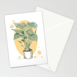 Fensterblatt Monstera delicios Stationery Cards
