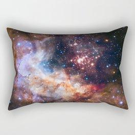 NASA Galaxy Photography Duvet Cover Rectangular Pillow