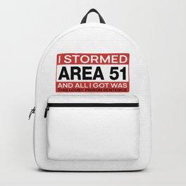 Area 51 Alien Justice Backpack