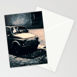 Vintage 500 in Italian Noir Stationery Cards