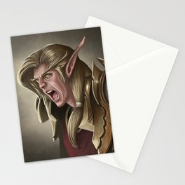 Elven Fury Stationery Cards