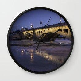 Early Morning Centre St. Bridge Wall Clock