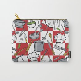 Kitchen Tools Check Carry-All Pouch