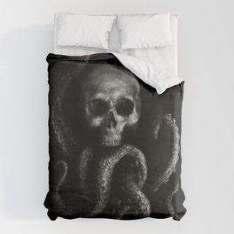 Skullapus Duvet Cover
