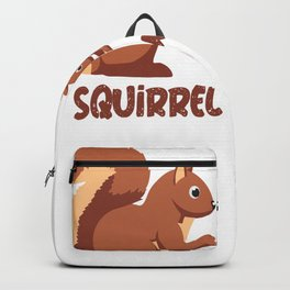 squirrel whisperer squirrel squirrel tree Backpack