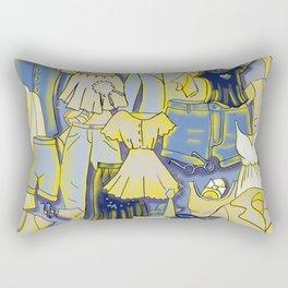 YELLOW CLOTHES Rectangular Pillow