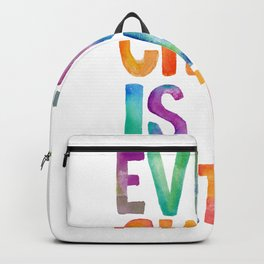 Every Child Is An Artist Backpack