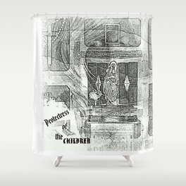 PROTECTRESS Shower Curtain