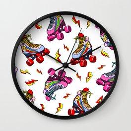 Roller Craze I Wall Clock