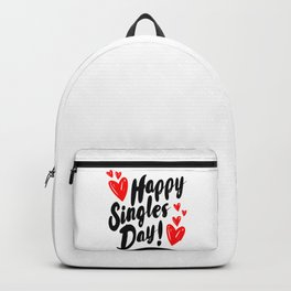 Happy Singles Day Backpack