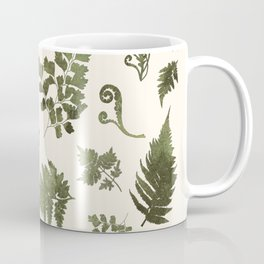 Green Fern Medley Coffee Mug