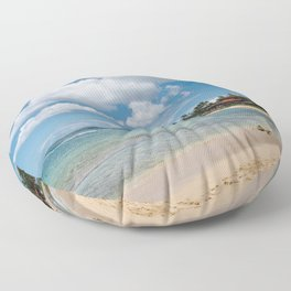 Poipu beach Floor Pillow