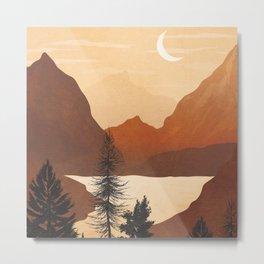 River Canyon Metal Print