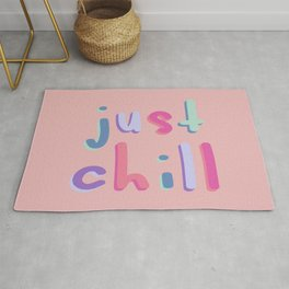 Just Chill Colorful Rug
