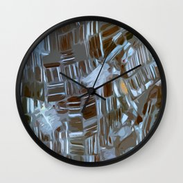 Geometrika #28 Wall Clock
