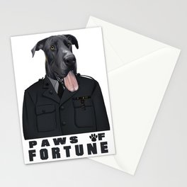 Paws of Fortune Stationery Cards