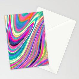 Candy pink melt Stationery Cards