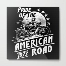 Pride Of The American Road Metal Print