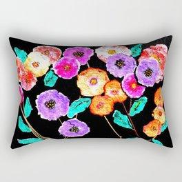 Bunches of Posies Rectangular Pillow