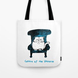 Centre of the Universe (Blue) Tote Bag